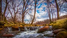 Photograph Colorful Rocks by Anthony Fields on Long Shot, Best Camera, Science Nature, Fields, Waterfall, Rocks, Colorful, Explore, Landscape