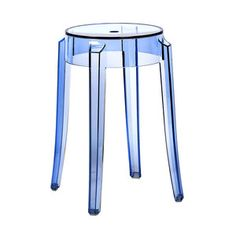 Charles Ghost Stool Light Blue, $144, now featured on Fab.