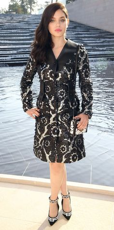 Odeya Rush in Louis Vuitton #InStyle