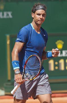 //Rafa #Nadal after defeating Andreas Seppi #sports #tennis