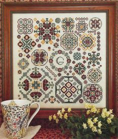 Rosewood Manor - Cross Stitch Patterns & Kits - 123Stitch.com