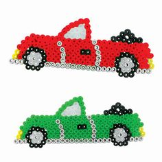 Auto's maken met strijkkralen   #strijkkralen #ironbeads #bugelperlen #perlerbeads #auto #car