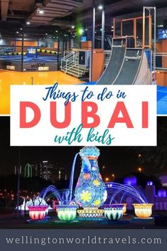 Traveling With Baby, Travel With Kids, Family Travel, Indoor Trampoline, Trampoline Park, Dubai Things To Do, Fun Things, Travel Destinations, Travel Tips