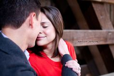 Rustic Engagement Portraits    {Mark + Kristin} Philadelphia, PA Engagement Photography » Andrea Warden