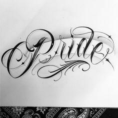 No photo description available. Tattoo Fonts Alphabet, Cursive Tattoos, Calligraphy Tattoo, Writing Tattoos, Tattoo Lettering Styles, Graffiti Lettering Fonts, Chicano Lettering, Lettering Design, Rose Drawing Tattoo