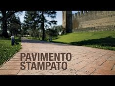 IDEAL WORK-PAVIMENTO STAMPATO - YouTube