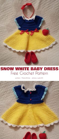 Adorable Butterfly Kisses Baby Dresses - While summer is still a ways off, why not prepare your little girl for welcoming it in style? There is no better way to do this than by crocheting bea. Crochet Toddler, Baby Girl Crochet, Crochet Baby Clothes, Cute Crochet, Crochet For Kids, Crochet Baby Dresses, Crochet Baby Stuff, Crochet Children, Crochet Dress Girl