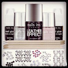 leather nail polish