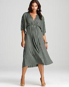 Rachel Pally White Label Plus Printed Short Caftan Dress - Dresses - APPAREL - Plus Sizes - Bloomingdale's