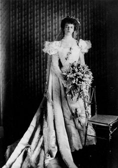 Eleanor Roosevelt at the time of her marriage to Franklin, March 17, 1905. Location is unknown.