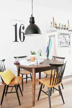 The fabulous home of a Dutch designer / blogger  || Ton Chair http://opaandcompany.com/sklep/krzesla/krzeslo-ironica/