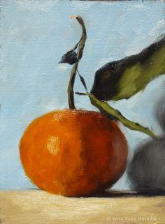 YANN HOVADIK's fine art - love this color scheme
