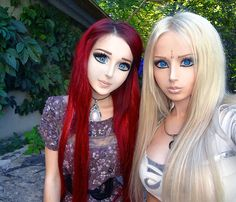 """""""Living Dolls"""" in Ukraine Copy Barbie to the Extreme."""