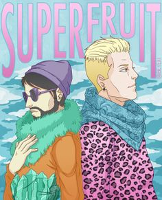 superfruitfangirling:  martinreneart:  SUPERFRUIT YAY!  He did the thing again
