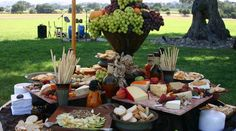French Inspired Catering in Santa Barbara. Looks AWESOME!  Stations Menu | Pure Joy Catering