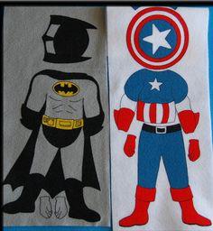 SUPER HERO Felt Board Set . AWESOME gift for by StorytellingFun