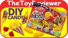 Check out the Kracie Popin' Cookin' Tanoshii Omatsuriyasan DIY Candy Kit here: https://www.youtube.com/watch?v=L9p26KqXbVk