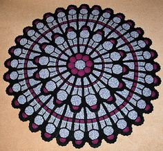 $10,000 Cathedral Window Afghan