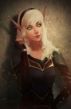 Cute WoW blood elf!