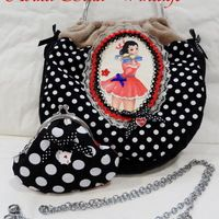 "Bolso boquilla ""Pin Up"" I"