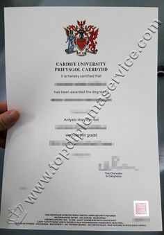 Cardiff University Diploma Degree Buy Fake Certificate Transcript NEBOSH