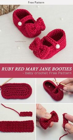 Child Knitting Patterns Crochet Baby Booties Crochet Baby Sneakers by Croby Patterns Crochet Child Booties Baby Knitting Patterns Supply : Crochet Child Booties Crochet Child Sneakers by Croby Patterns Crochet Baby Boot.Crochet Baby Sneakers by Croby Crochet Baby Sandals, Booties Crochet, Baby Girl Crochet, Crochet Baby Clothes, Crochet Shoes, Crochet Slippers, Crochet For Kids, Baby Slippers, Red Slippers