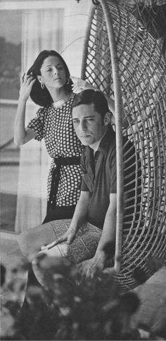 Marieta Severo e Chico Buarque 70's