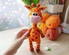 Easy PATTERN Little Dog, Deer and Giraffe Crochet. Amigurumi Puppy, Fawn and Giraffe Pdf. Easter Bunny Crochet Pattern, Crochet Unicorn Pattern, Crochet Cow, Crochet Teddy Bear Pattern, Giraffe Crochet, Crochet Dragon, Crochet Patterns Amigurumi, Crochet Crafts, Baby Dragon