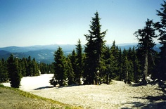 View from Mount Hood, Oregon