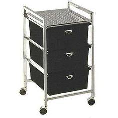 PIBBS 3 Drawer Cart Metal Frame (Model: D23) amazon $83.00