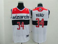 Washington Wizards #34 Paul Pierce Revolution 30 Swingman 2014 White Jersey