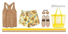 """""""Yellow."""" by lovedandforgiven ❤ liked on Polyvore featuring WithChic, Tory Burch, Target, Retrò and Zara"""