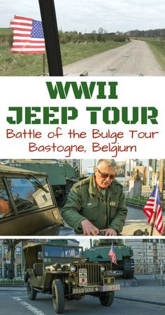 Taking a Battle of the Bulge Tour in Belgium -- Exploring the Belgian Ardennes by WWII American Military Jeep with @LiberationRoute | Bastogne Bekgium ww2 | Bastogne world war ii | Bastogne Belgium cities | Bastogne Belgium monuments - via @WanderTooth
