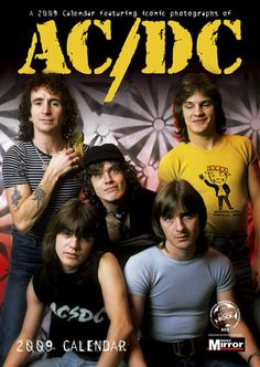 AC/DC CALENDARS , Calendar Toy Action Figure Poster Picture Game ...