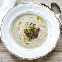 fennel and leek soup with smoked salmon more leek soup smoked salmon ...