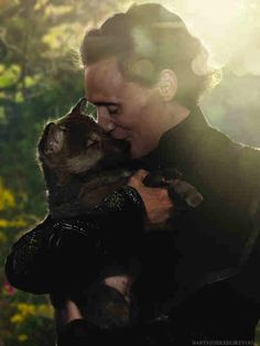 Loki with a puppy? melt.