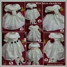 HAINUTE BOTEZ: Rochiță Audrey Kids Outfits, Cool Outfits, Victorian, Costume, Children, How To Make, Clothes, Dresses, Fashion