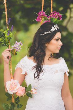 Tiara Petúnia - Tulle Noivas