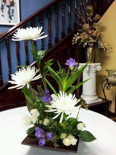 This is my Ikebana arrangement