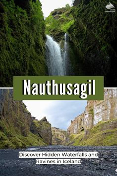 Nauthúsagil, Iceland is just waiting to be explored. Walk along a hidden narrow canyon until you end up at an amazing waterfall that is almost roaring directly on top of you. This is the place to explore for travelers who want to get off the beaten path. Iceland Travel Tips, Hidden Places, Cultural Events, Arctic, Paths, Waterfall, Explore, Adventure, Waiting