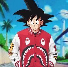 Goku estiloso