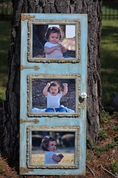 Shabby Chic Inspired  Custom Wall Art in Blue by freedomdivine, $130.00