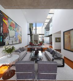 Patio House / Seinfeld Arquitectos . . . #Design #Spaces #Interior #Yoga #House #RealEstate