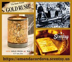 Gold Crush https://amandacordova.scentsy,us