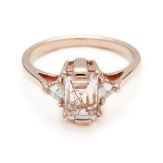 Anna Sheffield quartz engagement ring