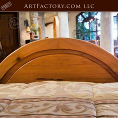 Custom Hand Carved Canopy Bed: Fine Art Designs By H. Nick - the finest quality furniture available anywhere at any price King Platform Bed Frame, Latest Bed, Wood Bed Design, Bedroom Furniture, Wooden Bedroom, Antique Beds, Wood Beds, Luxurious Bedrooms, Quality Furniture