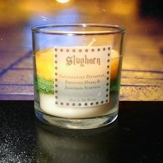 Slughorn scented 4oz candle- crystallized pineapple, poisoned mead, armchair stuffing