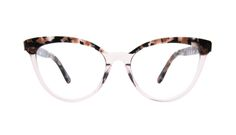 Reverie Rose tort - Soft colors with a bold cat eye shape sure to highlight your features and add to your style.