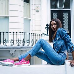 On bisousnatasha.com {link in bio}. I'm styling three pairs of the Nike Lunar…