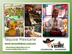 Con toda para tu Fiesta www.tacoselcipres.com.mx
